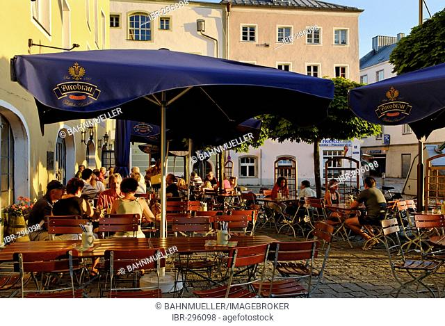 Passau Lower Bavaria Germany Roemerplatz