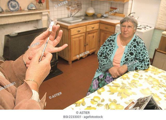 HOME MEDICAL CARE FOR ELDERLY PEOPLE