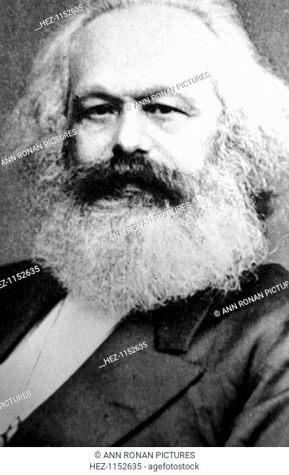 Karl Marx, German political, social and economic theorist, 19th century. The father of modern communism, Marx (1818-1883) believed that the downfall of...