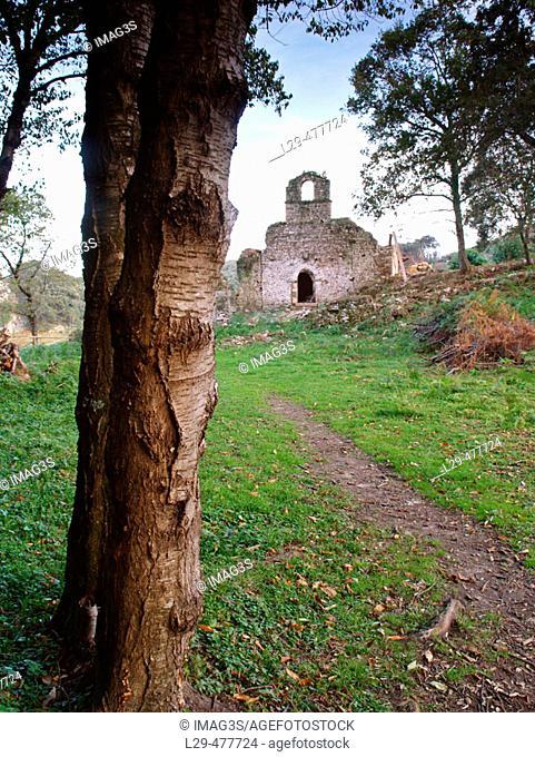 Santa María de Tina monastery (Xth century). Ribadedeva. Asturias. Spain