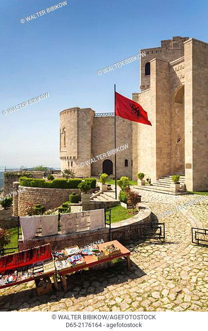 Albania, Kruja, Historical Museum, exterior