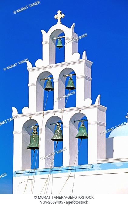 Greek Church. Santorini, Greece