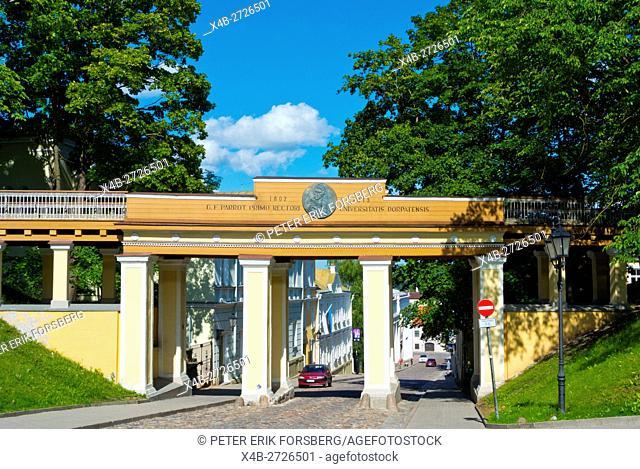 Inglisild, Angel Bridge, Toomemägi, hill park, Tartu, Estonia, Baltic States, Europe