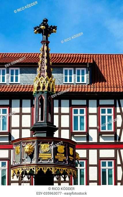 building in wernigerode in the harz