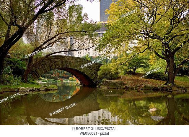 Central Park, Manhattan, NYC. USA