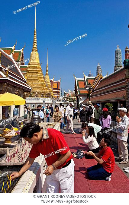 Wat Phra Kaew ,  The Grand Palace  , Bangkok , Thailand