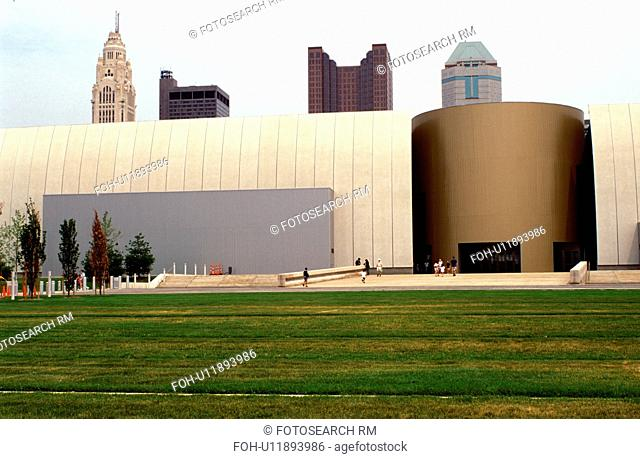 COSI, Columbus, skyline, OH, Ohio, Center of Science and Industry and the downtown skyline of Columbus