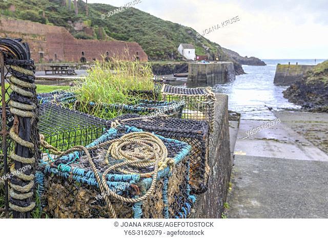 Porthgain, Pembrokeshire, Wales, UK, Europe