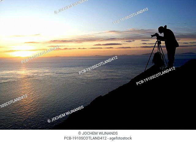 Scotland, Skye, Neist lighthouse