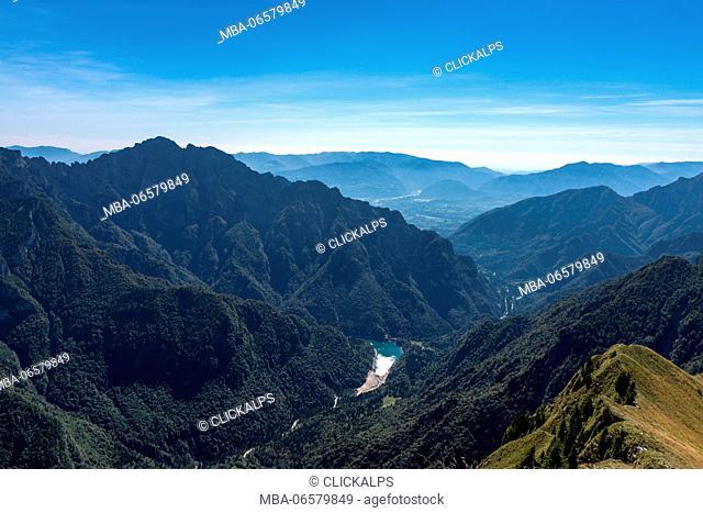 Cimonega, Dolomites, Veneto, Italy, The Stua Lake