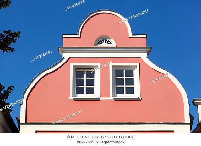 Colourful building, Warnemunde, Germany