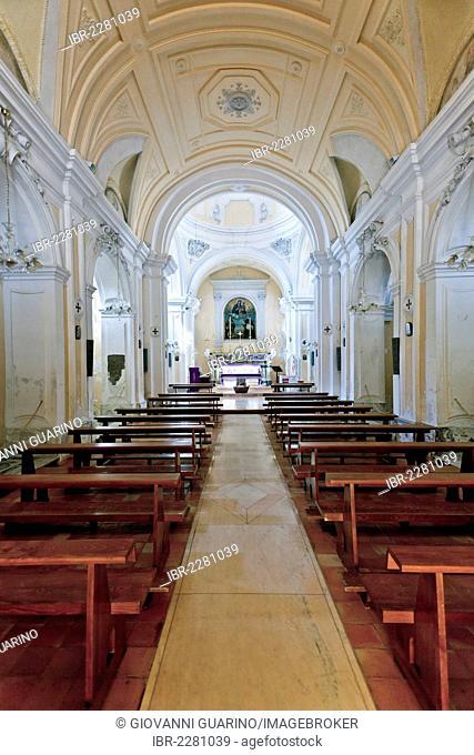 Church of Gesù e Maria, SS. Rosario e San Vincenzo Ferrer, XVII century, Puteoli, Pozzuoli, Naples, Campania, Italy, Europe