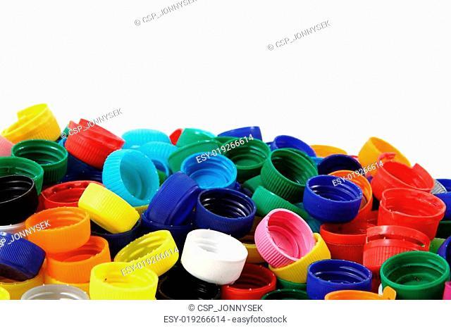 color plastic caps