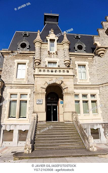 Oriol palace, Santurtzi, Bizkaia, Basque Country, Spain