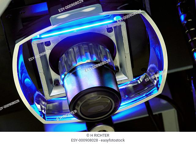 Lens of an vision measuring system
