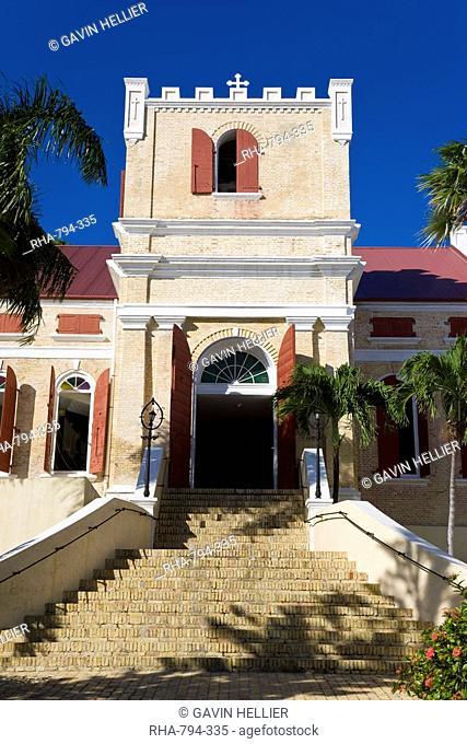 Frederick Lutheran Church, Charlotte Amalie, St. Thomas, U.S. Virgin Islands, West Indies, Caribbean, Central America