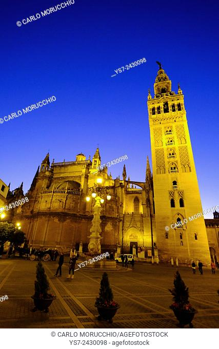 Sevilla Cathedral and Giralda, Andalusia, Spain