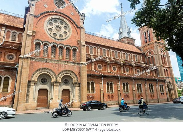 Notre Dame Cathedral Basilica in Ho Chi Minh City