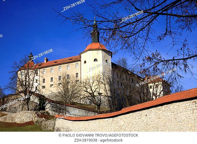 The castle, Skofja Loka, Slovenia