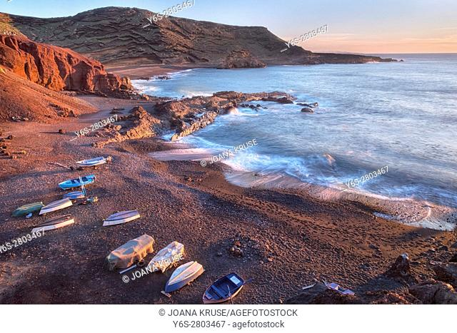 El Golfo, Lanzarote, Canary Islands, Spain, Europe