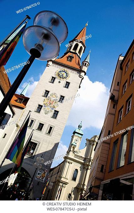 Germany, Bavaria, Munich, Old town hall