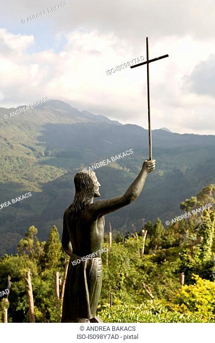 Statue of Jesus, Bogota, Colombia