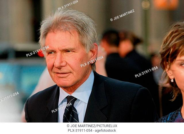 Harrison Ford at the Premiere of Warner Bros. Pictures' 42. Arrivals held at TCL Chinese Theater in Hollywood, CA, April 9, 2013