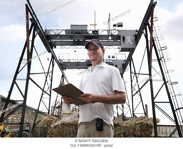 Supervisor At Sugar Cane Plant