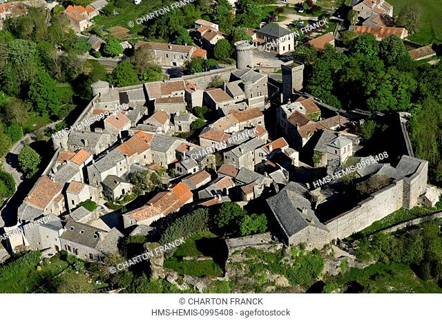 France, Aveyron, the Causses and the Cevennes, Mediterranean agro pastoral cultural landscape, listed as World Heritage by UNESCO