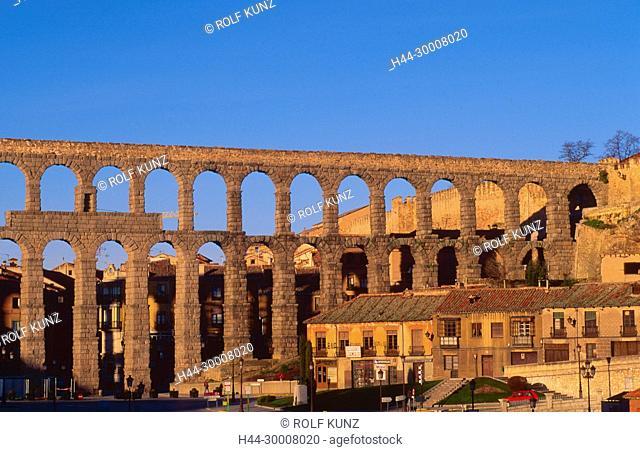 Römischer Aquädukt, Segovia, Stadt, Kastilien-Leon, Provinz Segovia, Spanien