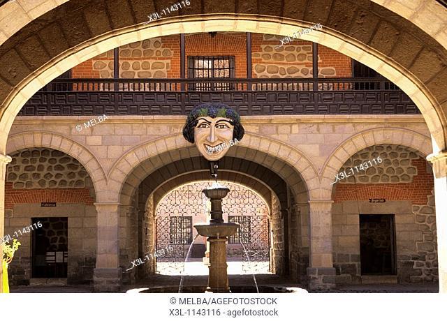 Casa de la Moneda Entrance  Potosi  Bolivia