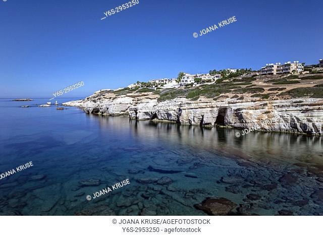 Sea Caves, Pegeia, Paphos, Cyprus