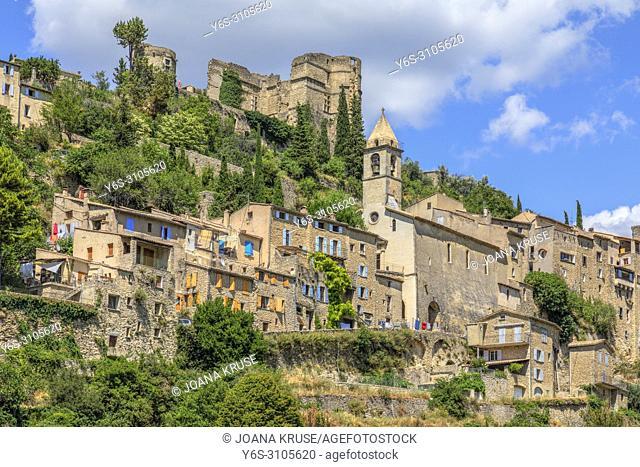 Montbrun-les-Bains, Drome, France, Europe