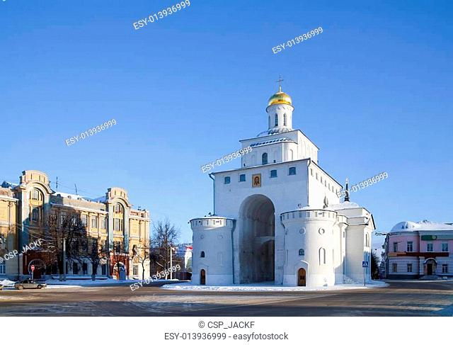 Golden Gates at Vladimir