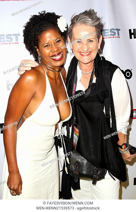 2014 Outfest Opening Night Gala Premiere Of \Life Partner\ Arrivals Featuring: Dalila Ali Rajah,Andrea Krauss Where: Los Angeles, California
