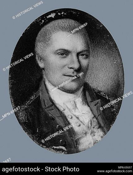 Arthur St. Clair. Artist: Charles Willson Peale (American, Chester, Maryland 1741-1827 Philadelphia, Pennsylvania); Date: 1780; Medium: Watercolor on ivory;...