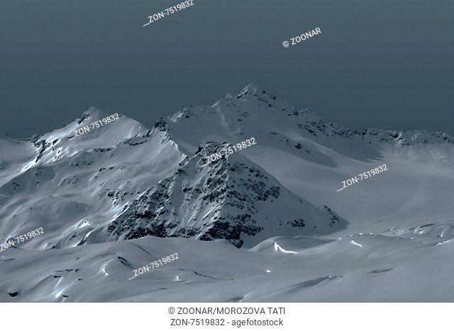 Elbrus. The Highest Mountain in Europe