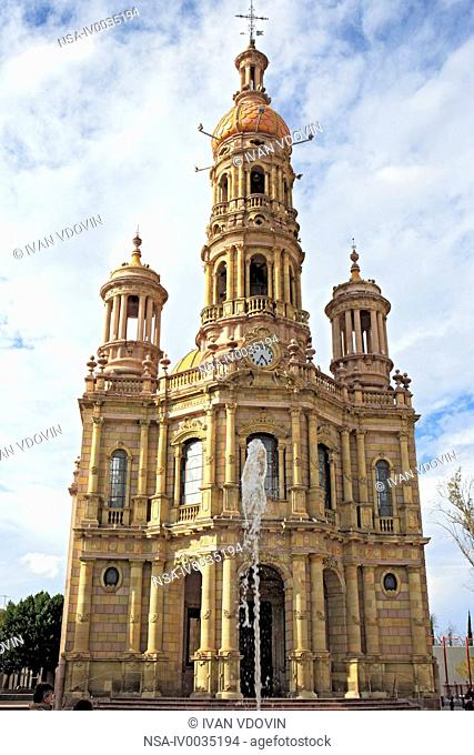 San Antonio church 1908, Aguascalientes, state Aguascalientes, Mexico