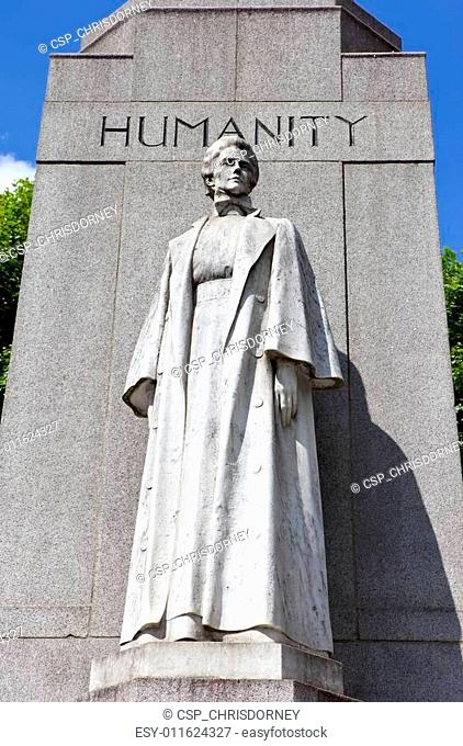 Edith Cavell Memorial in London