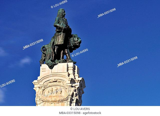 Portugal, Lisbon, monument of the Marques de Pombal