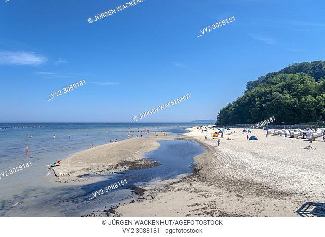 Beach, Sellin, Rügen, Mecklenburg-Vorpommern, Deutschland, Europe