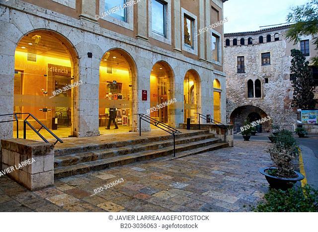 Antigua Audiencia, Plaça del Pallol, Interior of the walled city, Tarragona City, Catalonia, Spain, Europe