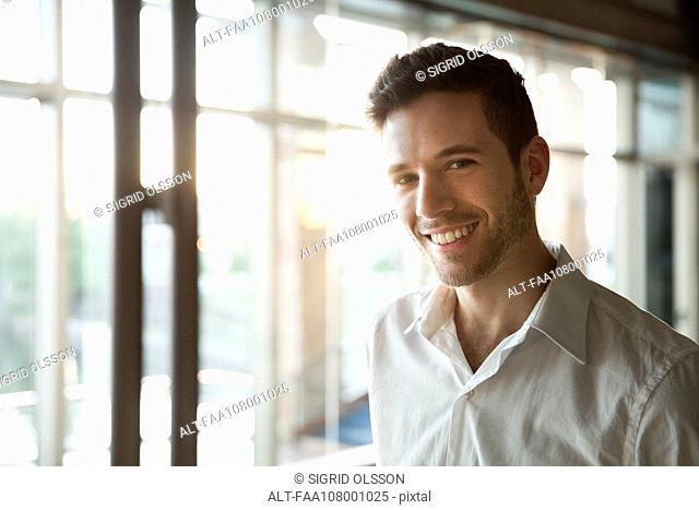 Young man, portrait