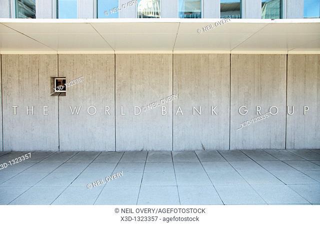 The World Bank, Pennsylvania Avenue, Washington, United States of America