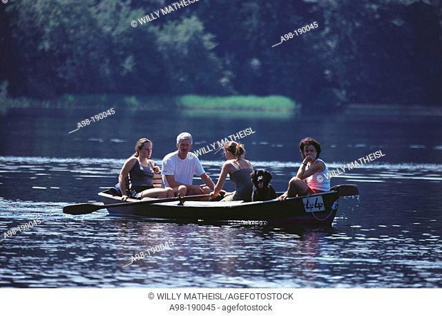 Boat trip. Bavaria. Germany