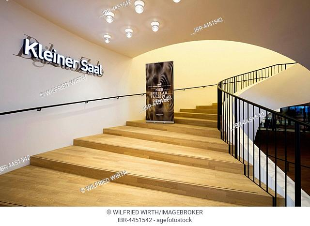 Staircase to small hall, Elbe Philharmonic Concert Hall, Hamburg, Germany