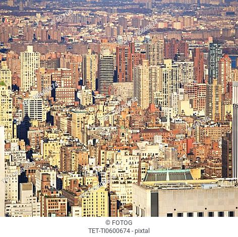New York City, buildings