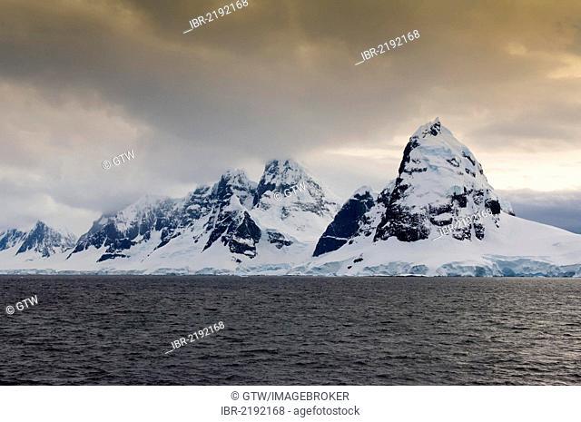 Anvers Island, Gerlache Strait, Antarctic Peninsula, Antarctica