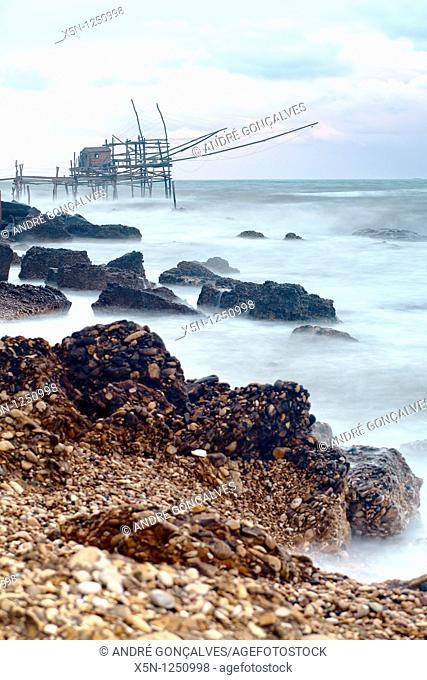 Seascape near Pescara, Italy