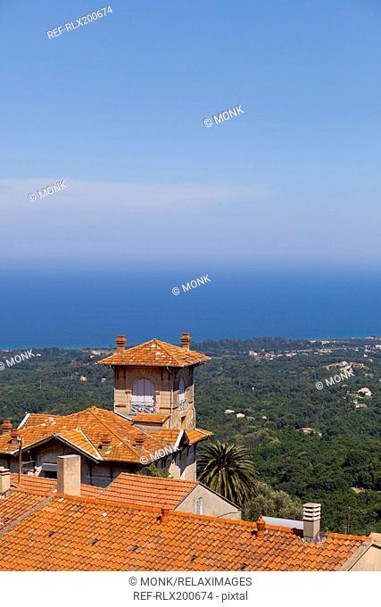 Villa, Cervione, Corsica, France